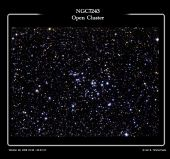 NGC7243 - Open Cluster in Lacerta